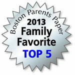 Voted Top 5 Family Favorite for 2013