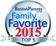 Voted Top 5 Family Favorite for 2015